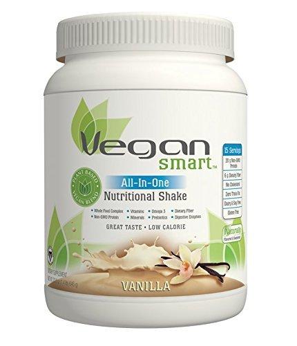 Naturade Vegansmart All-in-one Nutritional Shake, Vanilla, 22.75 Ounce by Naturade