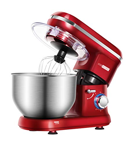 VIVOHOME Electric 650W 6-Speed Tilt-Head Stand Mixer