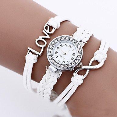 fenkoo 8 Forma de amor de estudiantes Reloj banda de reloj de Bohemia. Relojes de