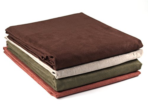 - BigKitchen Sage Ultra Suede Rectangular Tablecloth, 60 x 84 Inch