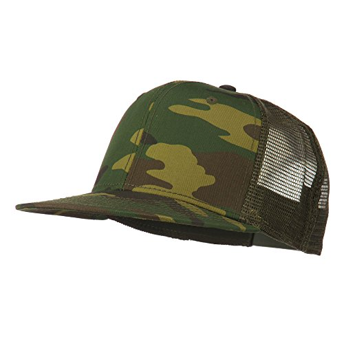 Olive Camouflage Hat - 4