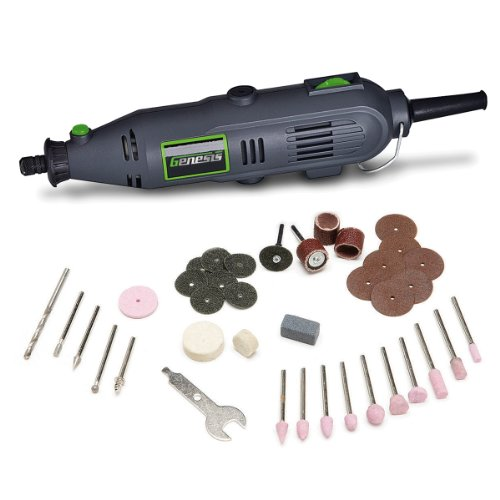 Genesis GRT2103-40 VS Rotary Tool with 40 Accessories, -
