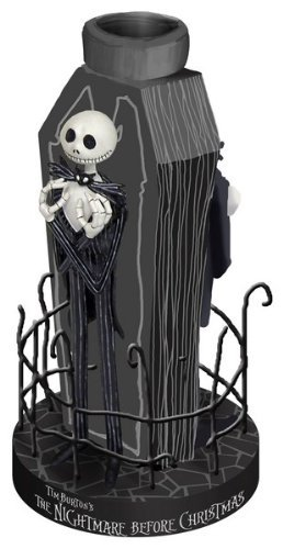 Nightmare Before Christmas FENCED JACK Votive Candle Holder by NECA