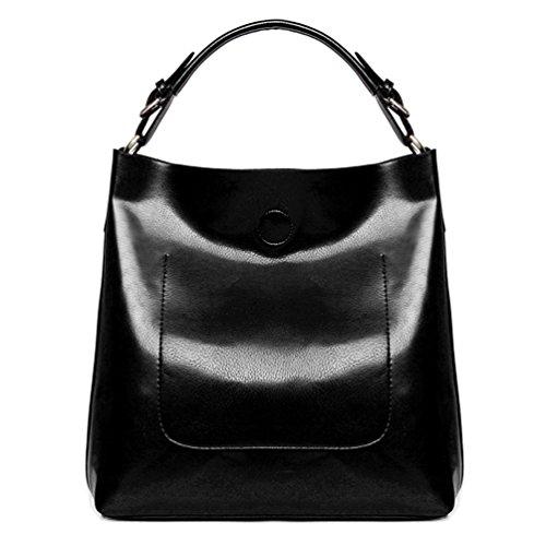 ACLULION Women Top Handle Satchel Handbags Tote Bag Top Purse Shoulder Bag (Handle Leather Satchel Bag)