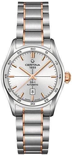 Certina - Wristwatch, Analog automatico, Stainless Steel, Women