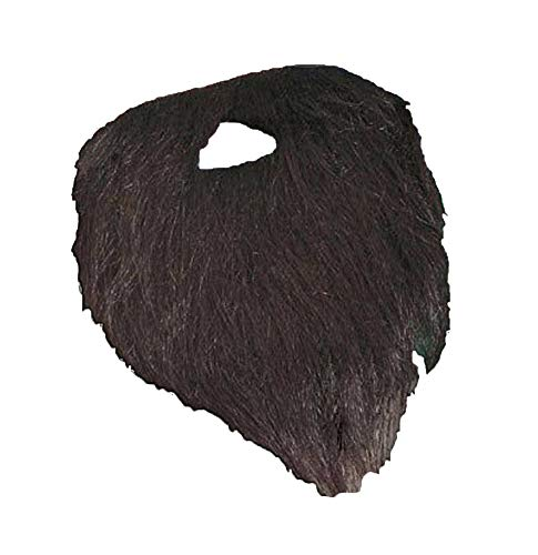 Novelty Giant Black Pirate Full Beard and Mustache Costume Accessory ()