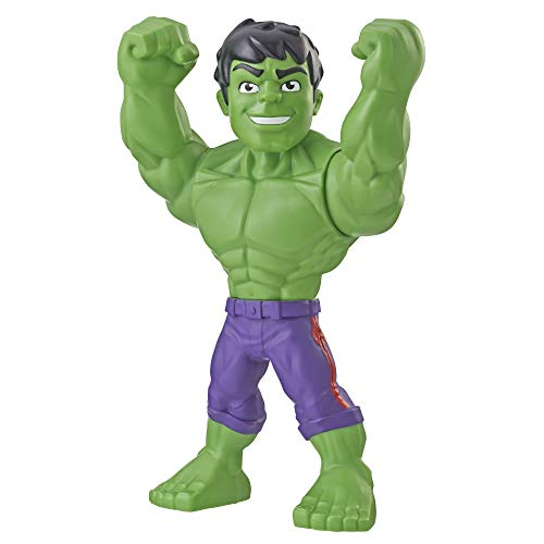 Playskool Heroes Marvel Super Hero Adventures Mega Mighties Hulk Collectible 10