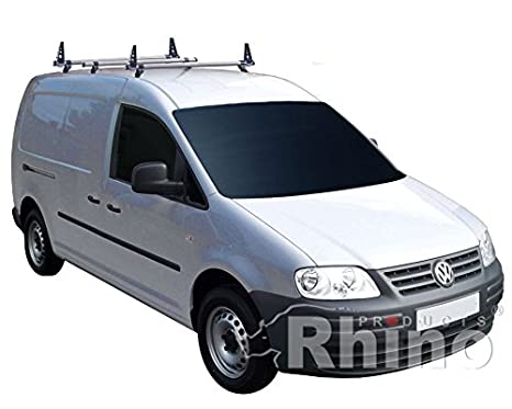 To Fit 2010-2015 VW Caddy Maxi Stainless Steel Rear Back Bumper Guard Bar