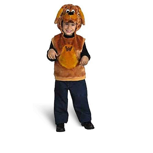 Disguise Boys 'Wags the Dog Deluxe' Halloween Costume, Brown, (Wiggles Halloween Costumes)