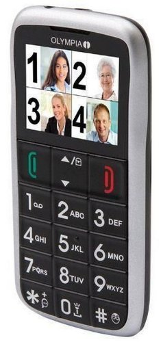 OLYMPIA 2154 Vox Colour Mobiltelefon (UKW-Radio, GSM)