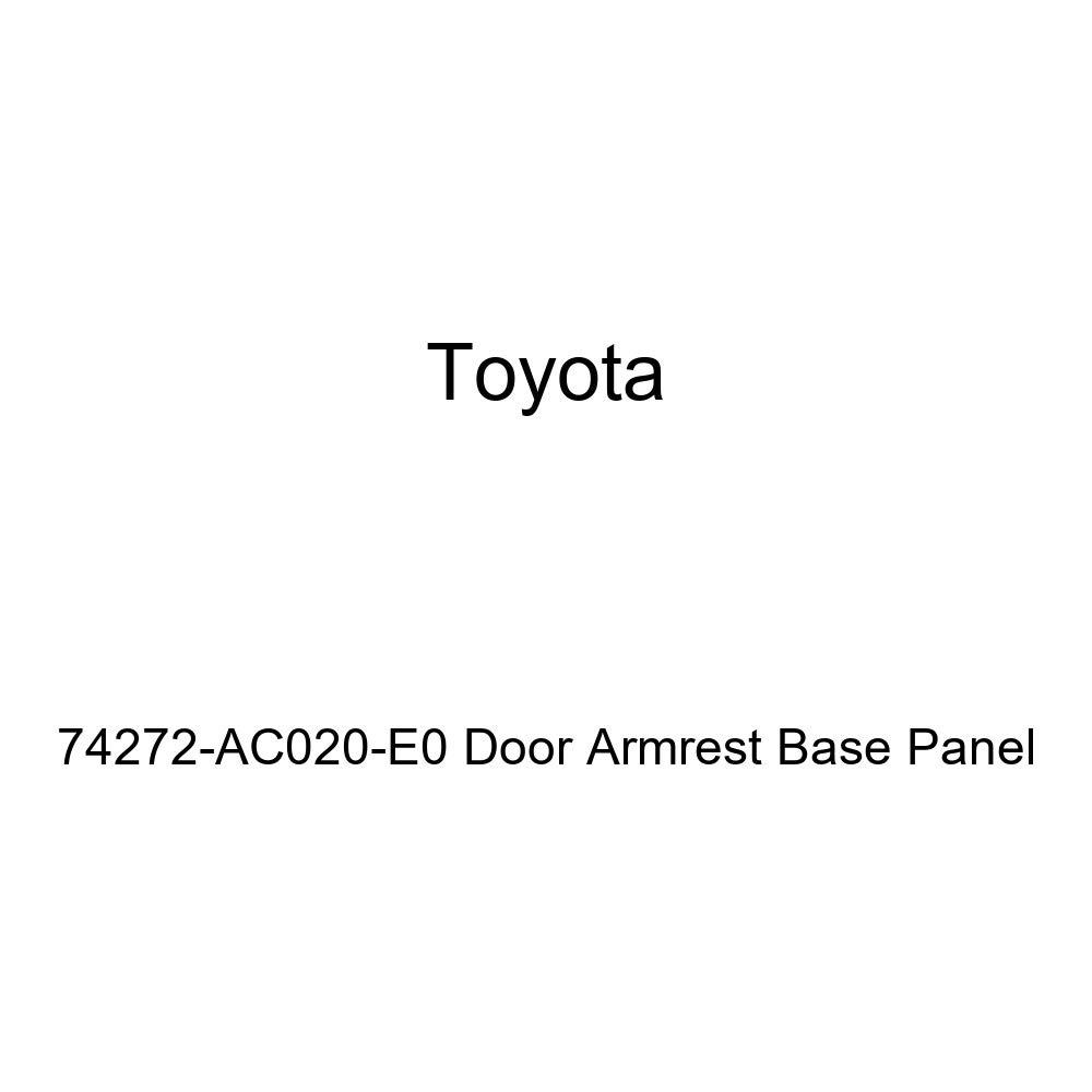 TOYOTA Genuine 74272-AC020-E0 Door Armrest Base Panel
