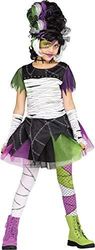 Fun World Monster Bride Child Costume, Medium, -