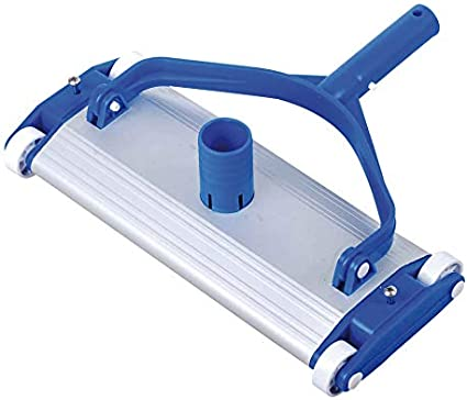 Dpool Chariot de nettoyage en acier inoxydable Support pour poign/ée 33 cent/ímetros bleu