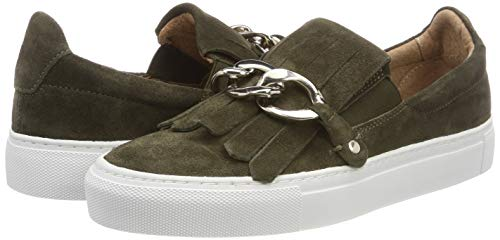 green Donna Sneaker Verde 200 on Suede 200 Slip Gry Pavement IYwCRn