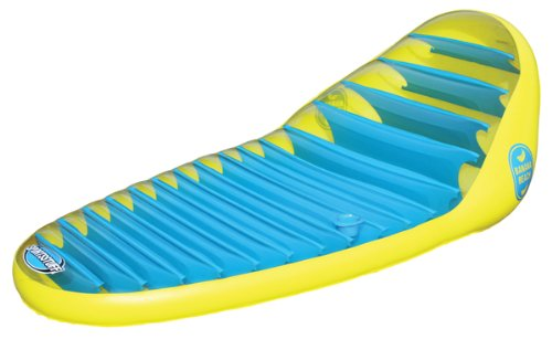 Kwik Tek 54-1660 Banana Beach Lounge 1 Person Pool/Water Float