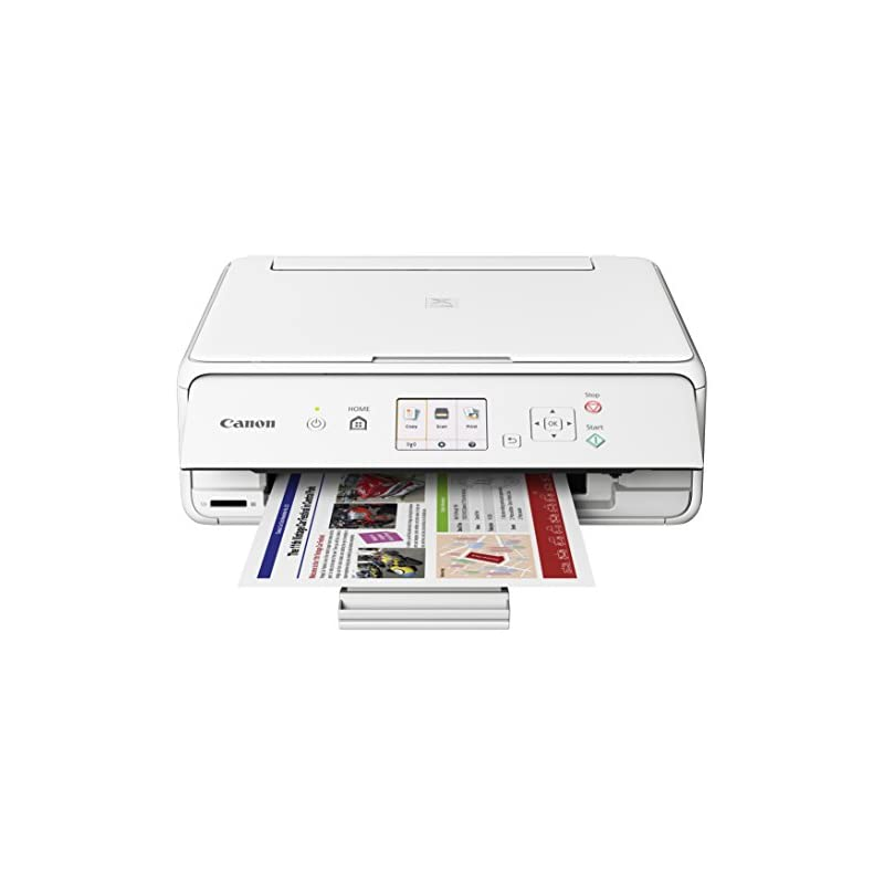 Canon Office Products PIXMA TS5020 WH Wi