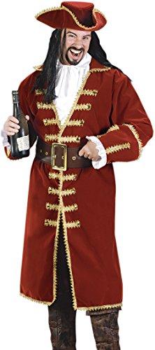 Captain Black Heart Pirate Costume