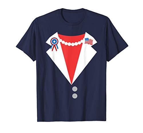 - Hillary Clinton Pantsuit Costume Funny Halloween T-Shirt