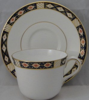 Royal Crown Derby Replacements (Royal Crown Derby Kedleston Flat Cup & Saucer Set)