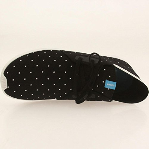 Top Polka Men's Apollo Dot Shell Jiffy Black White Microfiber Native Boot Chukka Mid Embroidered wXwFqH