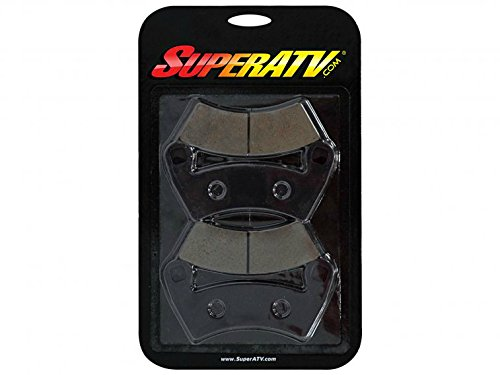 SuperATV Front Brake Pads for Polaris RZR XP Turbo/XP Turbo 4/XP Turbo S - (BP-P-014)