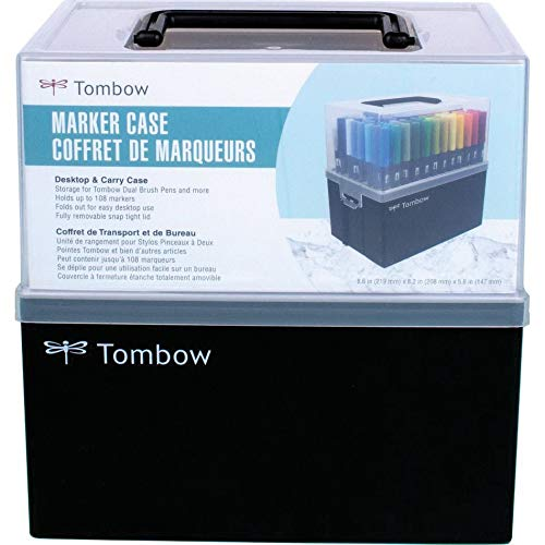 Tombow Marker Case-Empty-Holds 108 Dual Brush Pens
