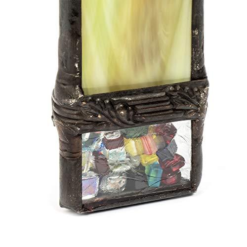 J Devlin Kal 113 Green Stained Glass Kaleidoscope Gift by J Devlin Glass Art (Image #4)