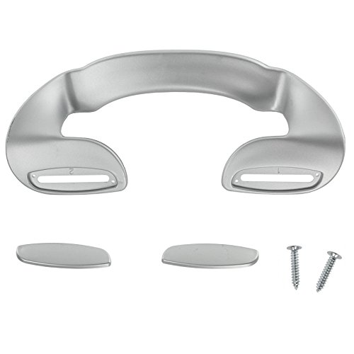 Price comparison product image Spares2go Door Handle For Labcold Fridge Freezer (190Mm, Silver)