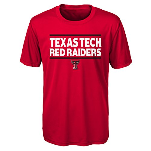 - Gen 2 NCAA Texas Tech Red Raiders Youth Boys Short Sleeve Performance Tee, Youth Boys Small(8), Red