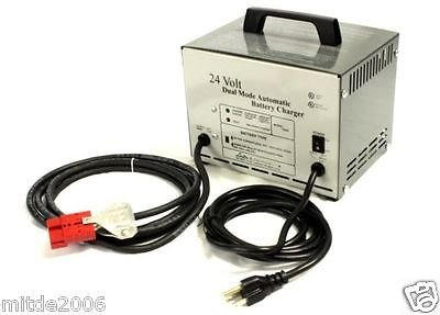 Advance Kent Clarke 56205983 Automatic Battery Charger 24V 12 Amp SCR SB50 Red