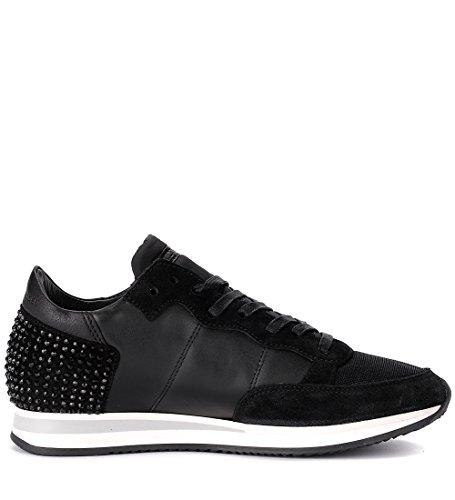 Tropez Modello Di Diamante Pelle Scamosciata Pelle Philippe In Sneaker E Nera Nero xrEnqr