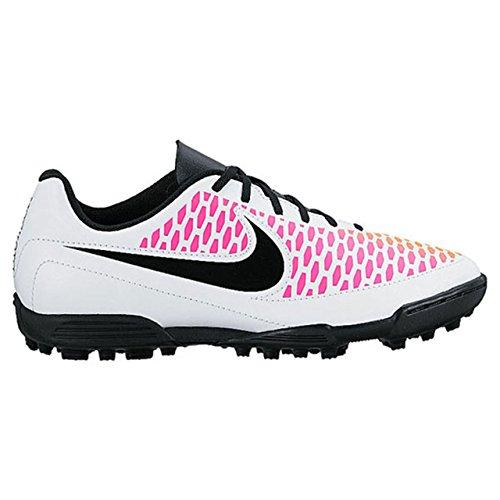 Nike Unisex Baby Jr Magista Ola TF Fußballschuhe, Weiß Weiß (White / Black-Pink Blast-Volt)