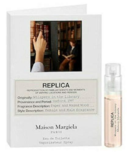 Maison Margiela Paris Replica Whispers in the Library Eau de Toilette Sample Spray, 0.04 fl oz / 1.2 ml (Replicas By Paris)
