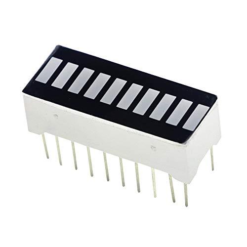 10pcs/lot 10 Segment Digital Red LED Bar Graph Display Ultra Bright