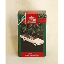 1966 Mustang Classic American Car 1992 Hallmark Keepsake Ornament