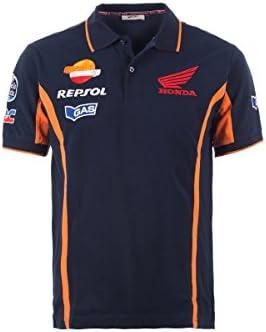 Honda Gas Repsol Moto GP Team Polo camiseta oficial Nuevo: Amazon ...