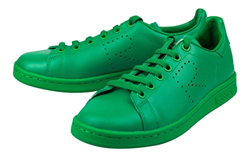 Raf Type - RAF SIMONS STAN SMITH Green Leather Fashion Sneakers Shoes Size 5 US