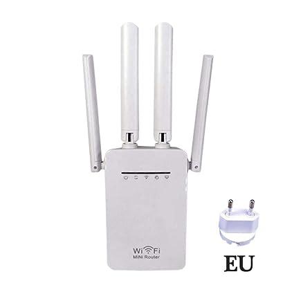 AUTOECHO Extensor de Alcance WiFi de - 300Mbps / 1200Mbps Repetidor WiFi inalámbrico/Amplificador de