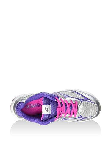 Plata Colores Hombre Varios Para Multicolore De Violeta Zapatillas Material Lotto Voleibol Sintético Sport fnFPTPqg6