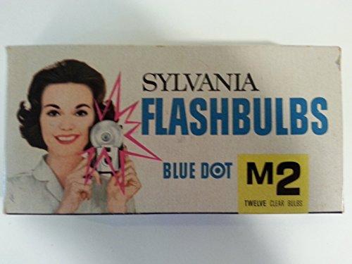 Sylvania Flashbulbs - Sylvania M2 Flash Bulbs Blue Dot