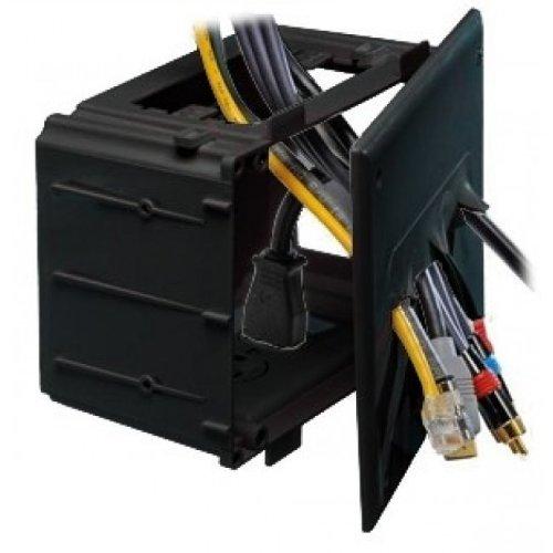 DataComm 45 0010 BK Recessed Media Black product image