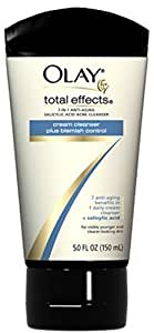 Olay Total Effects 7 in One Blemish Control Salicylic Acid Acne Cleanser 5 oz