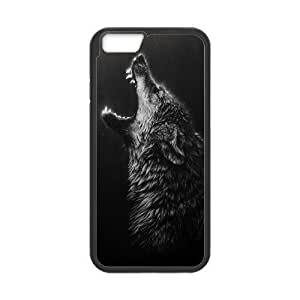 "Black Wolves New Printed Case for Iphone6 Plus 5.5"", Unique Design Black Wolves Case by mcsharks"