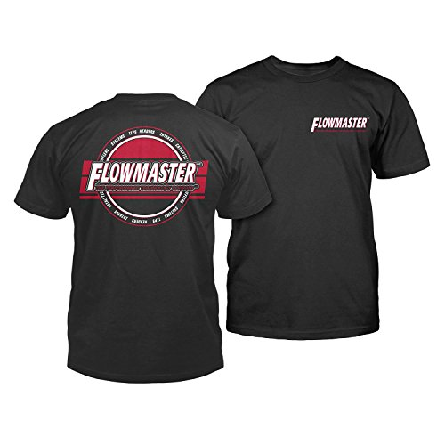 Flowmaster 610354 Technology Performance T-Shirt Black XX-Large Technology Performance -