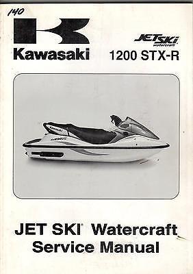 - 2004 KAWASAKI JET SKI WATERCRAFT 1200 STX-R SERVICE MANUAL (930)