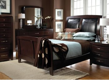 Amazon.com: Rodea Cabernet 4Pc King Bedroom Set: Kitchen & Dining