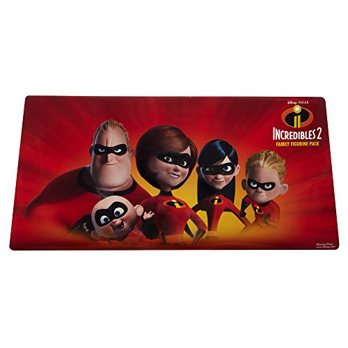 The Incredibles 2, 5 Piece Family Figure Set Comes with (Mr./Mrs. Incredible, Violet, Dash, Jack Jack) by The Incredibles 2 (Image #6)