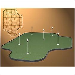 Tour Links Golf Practice Putting Green - 14 x 20