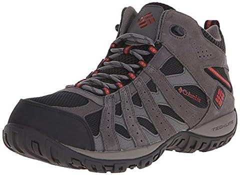 Columbia Men's Redmond Mid Waterproof Hiking Boot, Black, Gypsy, 14 D US - Arrampicata Scarpe