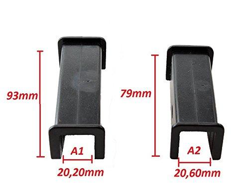 Conjunto de 2 escobillas del limpiaparabrisas heavy duty 35 900mm Montaje del tornillo de autobuses
